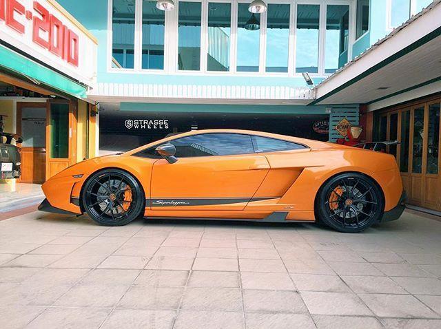 Twin Turbo Superleggera. #StrasseSM5R  www.StrasseWheels.com  #StrasseWheels #StrasseForged #Strasse #TeamStrasse #ForgedWheels #Forged #Concave #Wheels #ConcaveWheels #Lamborghini #Gallardo #LamborghiniGallardo #FinalEdition #LP5604 #LP560 #LP570 #LP5704 #FinalEditionGallardo #Superleggera #Performante #SuperTrofeo #Luxury #CustomWheels #Hellaflush