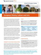 European History, Culture & Arts  #studyabroad #travel #europe #CES #CESMaastricht #Maastrichtuniversity #exchange