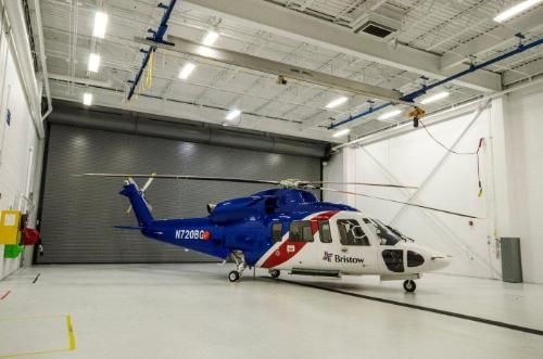 Sikorsky Aircraft Corp. announced today that it delivered its first fully configured S-76D(TM) helicopter, the latest in the long and highly successful Sikorsky S-76(TM) commercial aircraft family, to the Bristow Group Inc.   (PRNewsFoto/Sikorsky Aircraft Corp.)