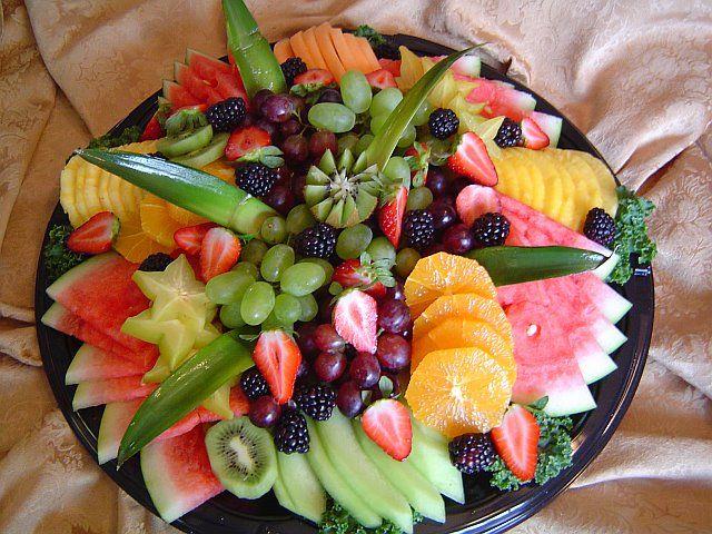 Fruit Platter Presentation Idea Buffet Bar De Nuit