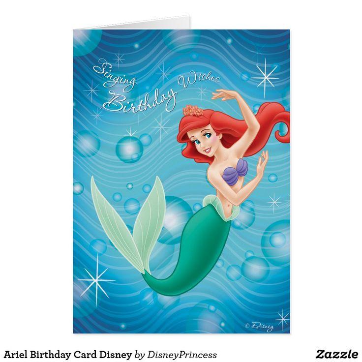 Гостевую, открытки с русалочкой ариэль