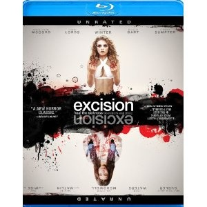 Excision Bluray giveaway worth $15.00. Click to enter. #film #Excision #horror #Giveaway #Sweepstakes #bluray