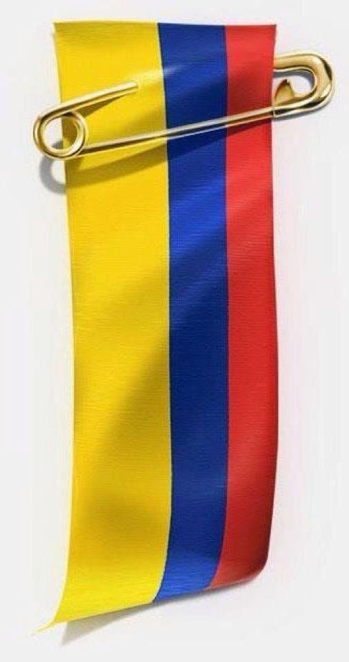 Amo mi bandera COLOMBIANA