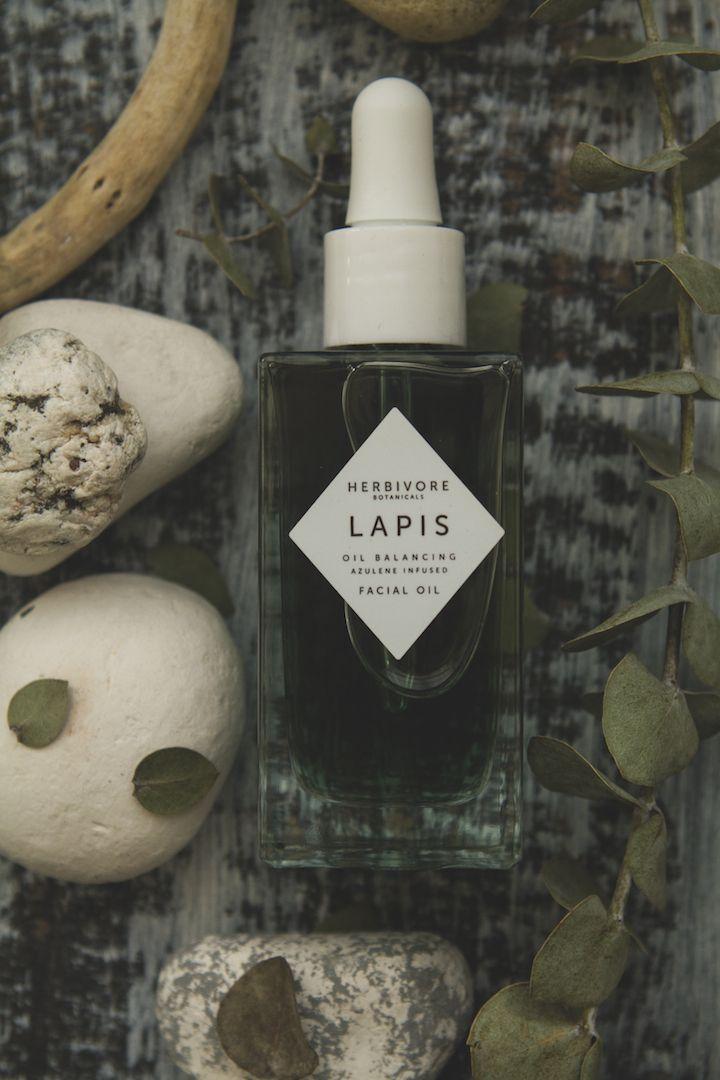 Herbivore Botanicals Lapis Facial oil | TLV Birdie organic beauty blog review