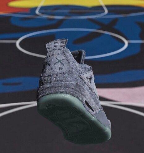 OriginalFake x Kaws Air Jordan Cool Gray Suede