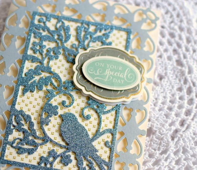Crafty Creations with Shemaine: Anna Griffin Card Front Cutting dies