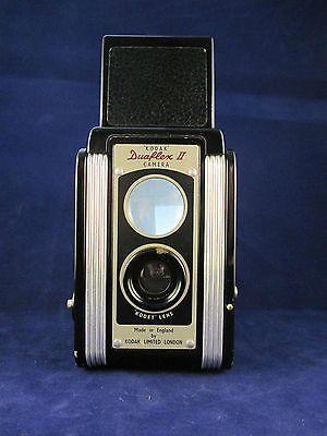 Kodak Duaflex II, Kodet Lens, 1940's Camera in Original Canvas Pouch