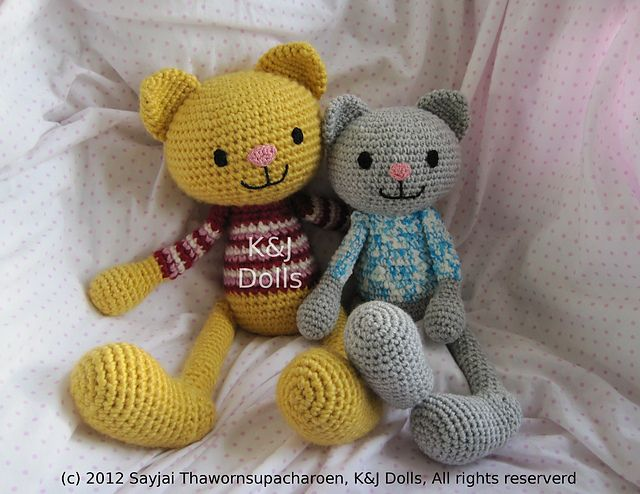Ravelry Amigurumi Cat : 1000+ images about crochet animals on Pinterest Crochet ...