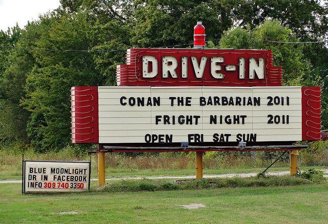Blue Moon Drive In Guin Alabama 84
