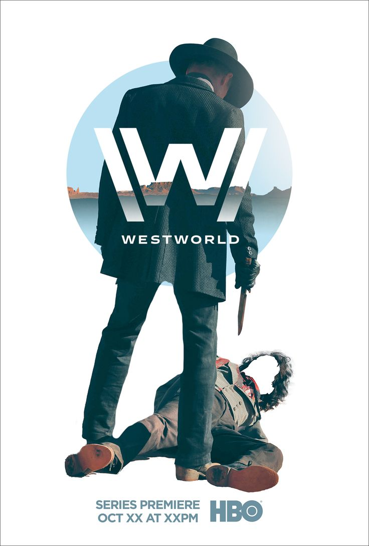 Westworld key art explorations on Behance