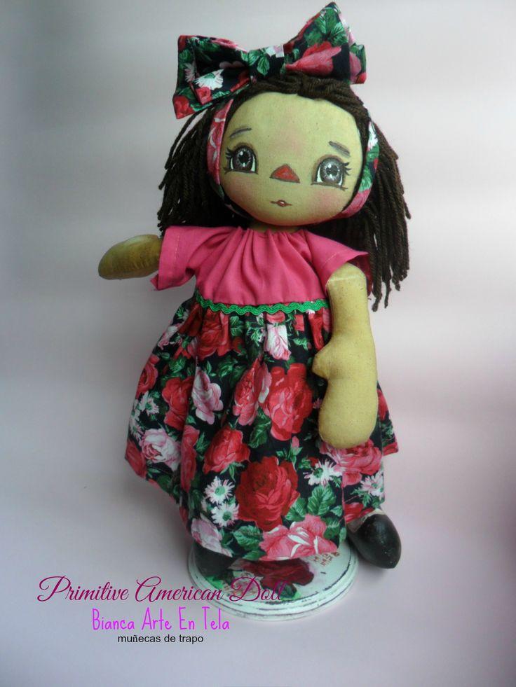Muñeca de trapo aromática