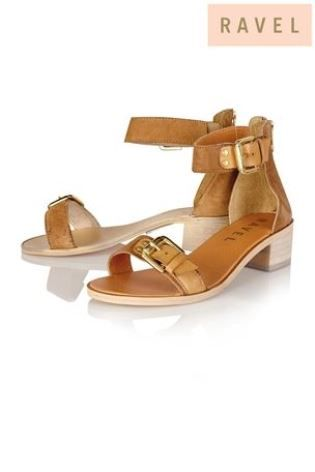 Buy Ravel Two Strap Low Block Heel Sandal from the Next UK online shop