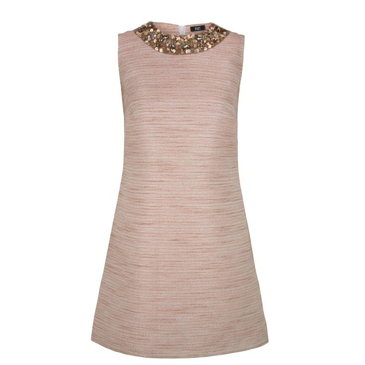 Blush Pink Trend - Embellished Dress, £28, Florence & Fred http://www.clothingattesco.com/