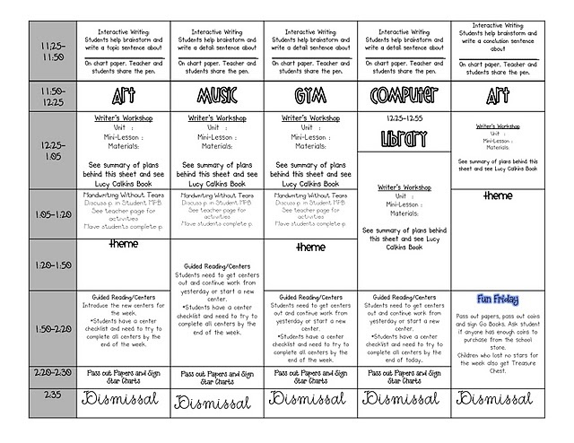 52 Best Lesson Plan Templates Images On Pinterest | Teacher Binder