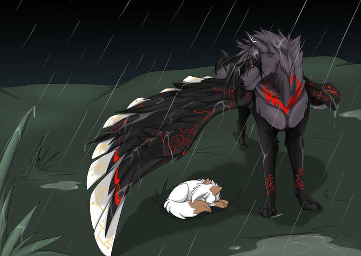 293 best demon wolf images on Pinterest - photo#43