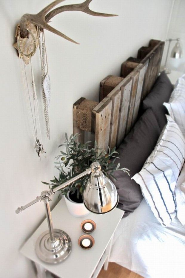 Since my guy never wants our room too feminine, a clean, crisp room with just a couple rustic pieces could really do the trick. 45 Cool Headboard Ideas To Improve Your Bedroom Design