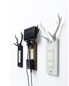 the socket deer : a handy resting place for your electronic devices