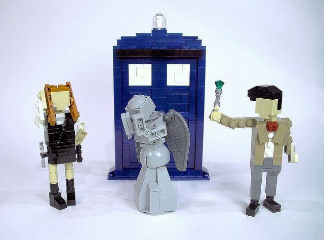 Dr Who Lego  http://www.flickr.com/photos/ochre_jelly/6697083185/in/photostream/