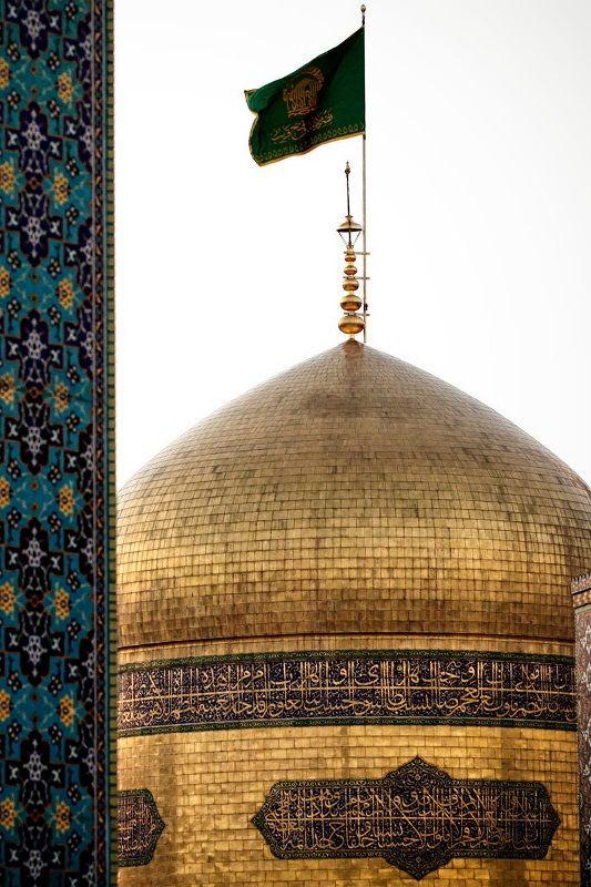 The Golden Dome of  Imam Reza shrine, Mashhad, Iran(Islamic Art)