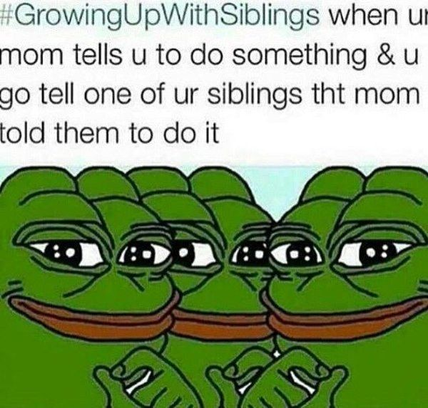 Whenever you took advantage of the fact that you were the intermediary between your parents and your siblings: | 22 Pictures That Won't Make Sense To People Who Aren't An Eldest Sibling