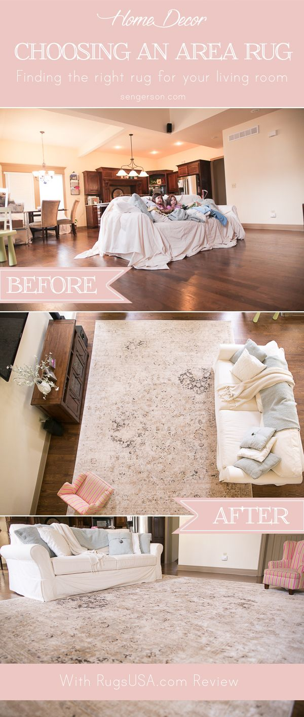 How to choose the right size area rug for your living room to find out peace and living rooms How to buy an area rug for living room