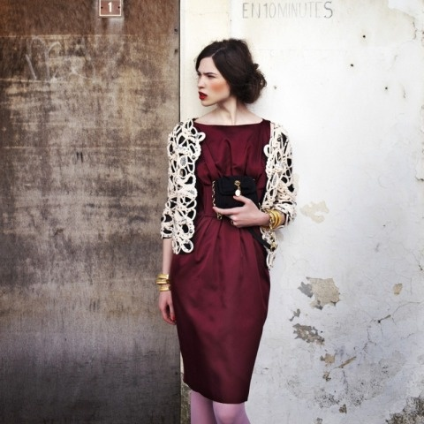 love it color of wineLace, Fashion Editorial Photography, Style, Red Wine, Colors, Dark Red, Plum Wedding, The Dresses, Burgundy Dresses
