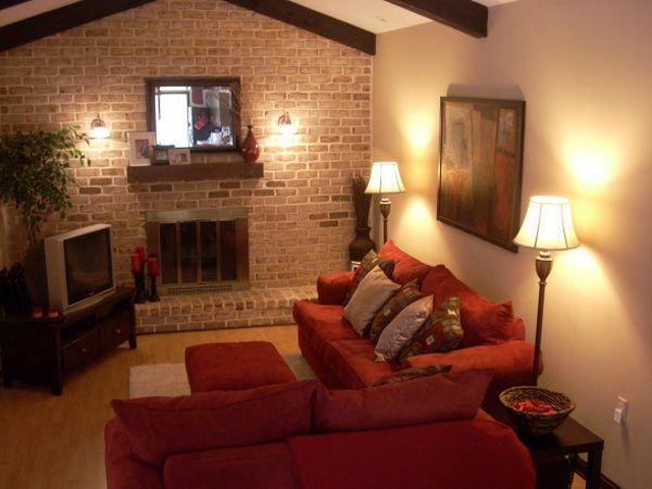 Best 10 narrow family room ideas on pinterest large for Long narrow basement design solution
