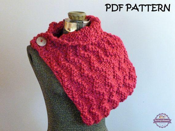 Pashmina Cowl Knitting Pattern : 78 best images about Knitting Patterns on Pinterest Knitting patterns, Infi...