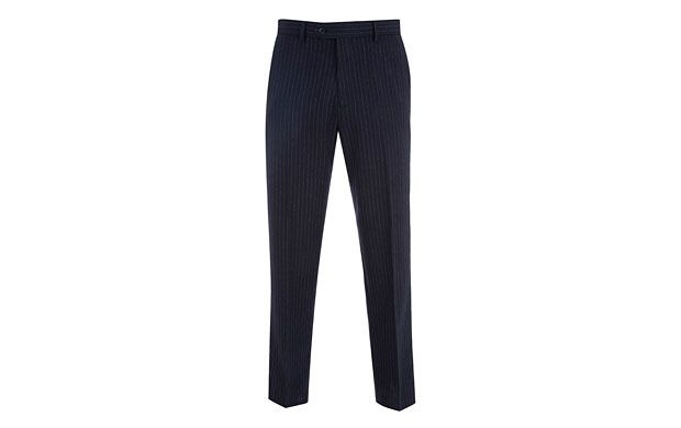 """Pinstripe Suit Trousers. """"Whether you wear these pinstripe trousers with their matching blazer, or choose to make them the star attraction of your outfit, there's no denying they're a style classic."""""""