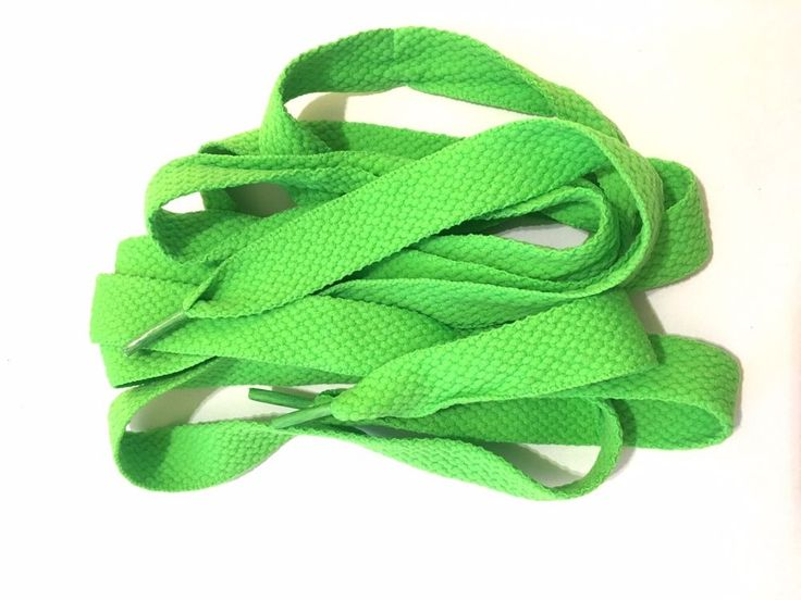 Thick 50in FAT LACES  Neon Green flavor cool thick fat shoe laces refresh ur's #hiphop