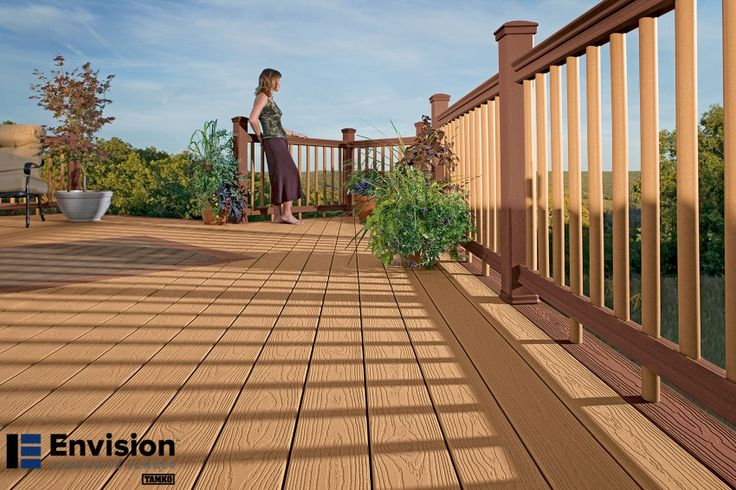 23 best evergrain composite decking images on pinterest for Envision decking