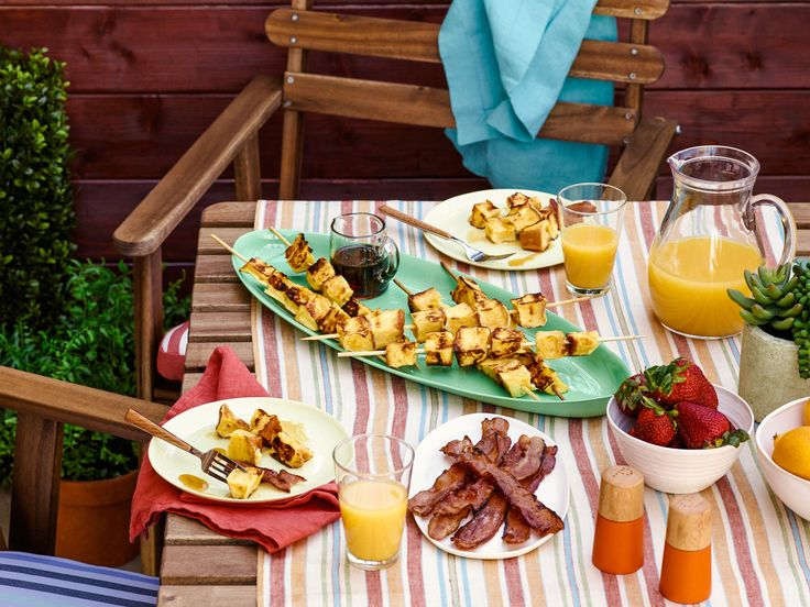 Grilling isn't just for dinner anymore! Try out these grilled breakfast and lunch flavor-filled recipes.