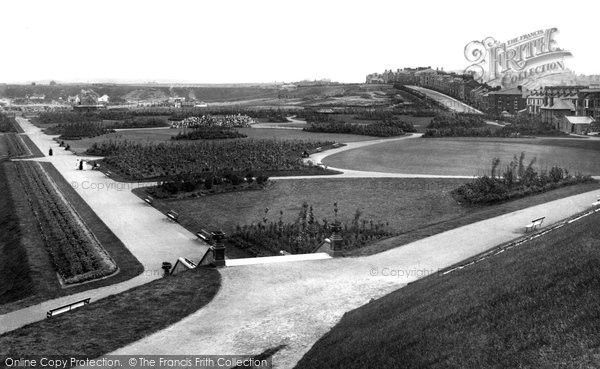 South Shields, The Park 1888, from Francis Frith