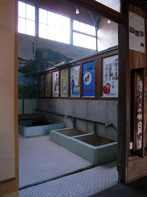 元銭湯 − Old Public Bath 阿智村