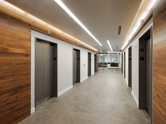 Hospital Corridor Lighting Design: Corporate Interiors