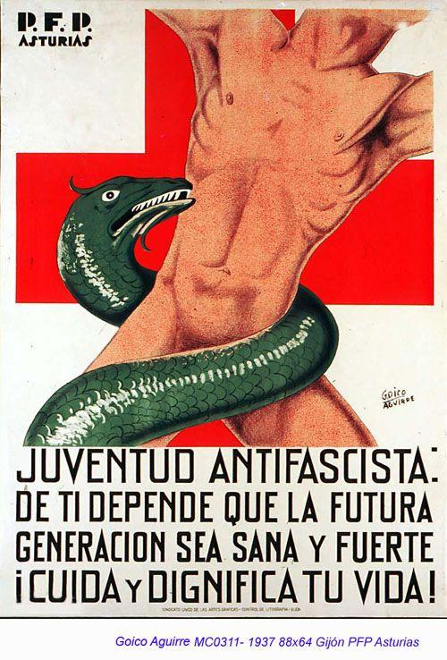 Memoria republicana - Carteles - Goico Aguirre, 1937