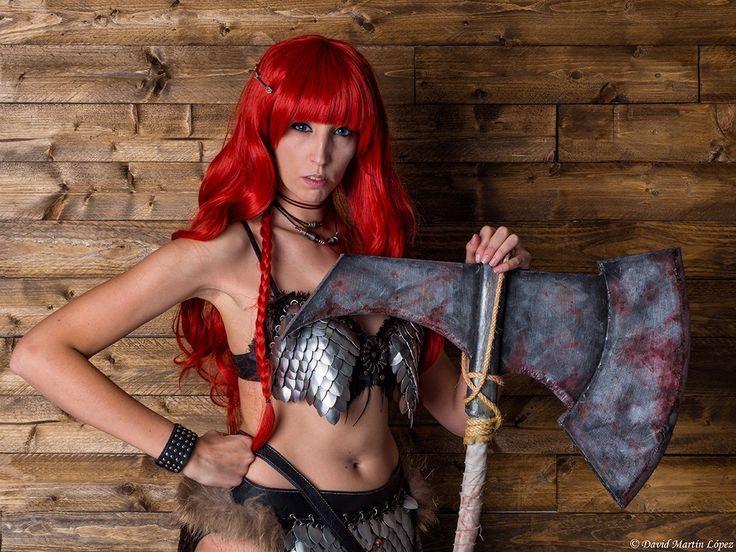 Red Sonja II - Model / Modelo: Montse Cruz Character / Personaje: Red Sonja Photography and edition / Fotografía y edición: David Martín López