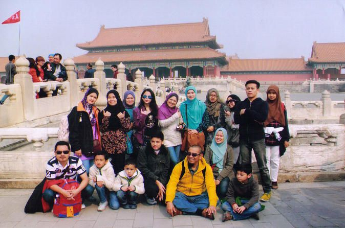 Private Muslim Tour to Haidian Mosque and Classic Beijing City Attractions Accompanied by a knowledgeable Muslim expert tour guide, you will start your one private day Beijing city tour from Tiananmen Square where you can feel the heartbeat of China.  Moreover, you will also visit Forbidden City, Summer Palace and Temple of Heaven. In addition, you will perform Salat at Haidian Mosque. A Halal lunch at Muslim restaurant is provided during this tour.Pick up at your Beijing hote...
