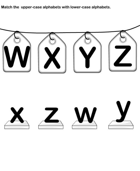 Match Letters Match Alphabets