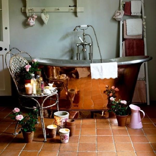 Медная ванна: роскошь на все времена - Ярмарка Мастеров - ручная работа, handmade