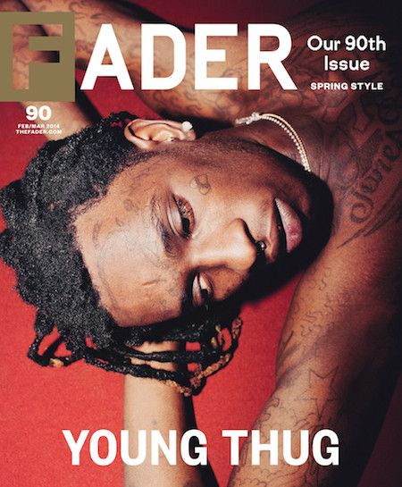 Young Thug Covers FADER Magazine |