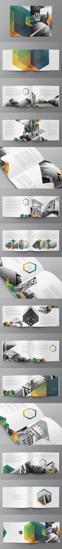 Hexo Brochure Design by Abra Design | Graphic Design
