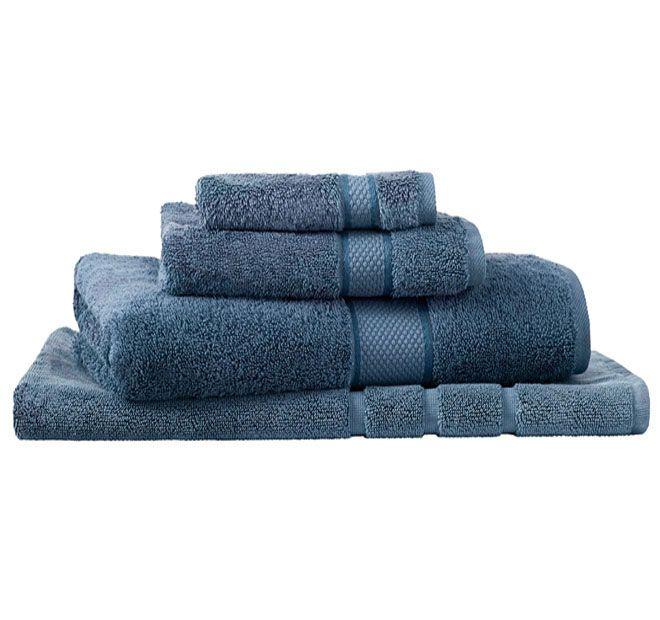Sheridan Egyptian Luxury Bath Towel Smokey Blue