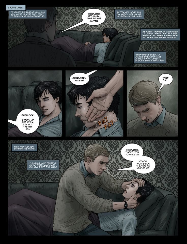 An amazing Sherlock Comic done by //pennies-4-eyes.livejournal.com // Found more of the comic!  Woohoo!