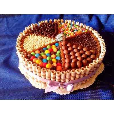 Torta Con Dulces/golosinas Grande Zona Quilmes $350 ZwgjX - Precio D Argentina