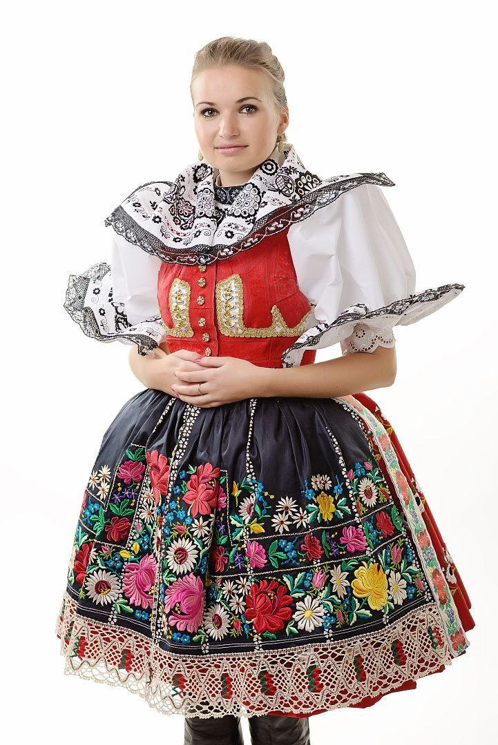 Czech traditional folk costume