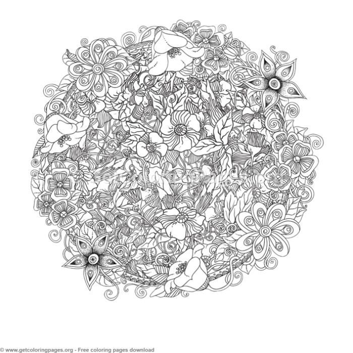 13 Zentangle Round Mandala Coloring Pages Getcoloringpages Org Coloring Coloringbook Coloringpages Manda Mandala Coloring Pages Mandala Coloring Mandala