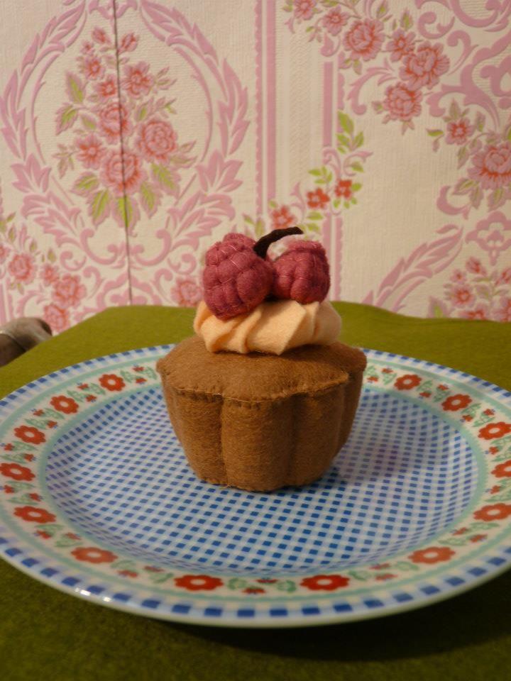 bloemencake met framboos