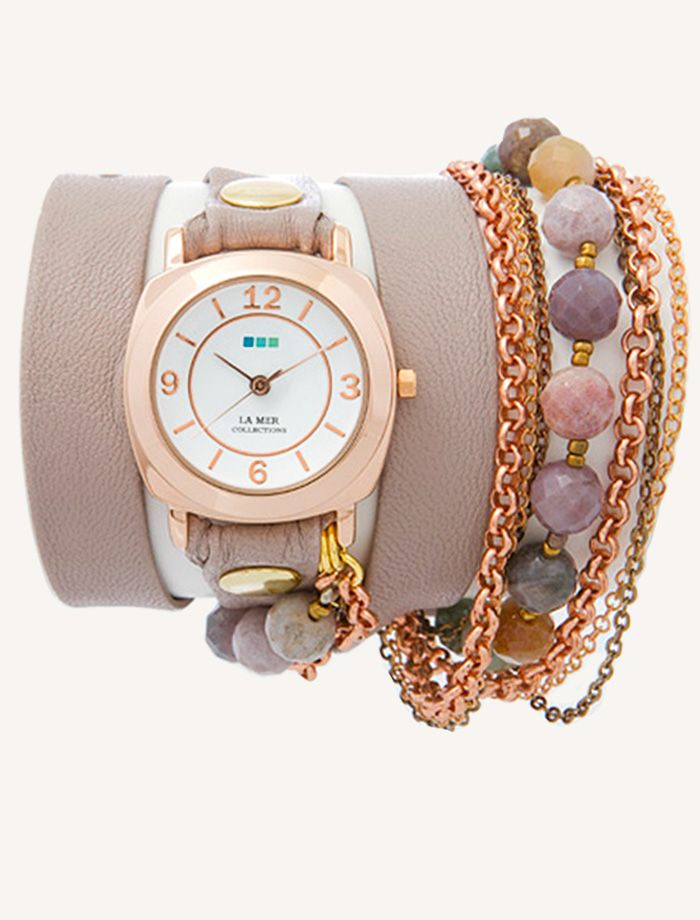 La Mer Watches-- i LOVE this watch style; jewelry and timepiece all in one
