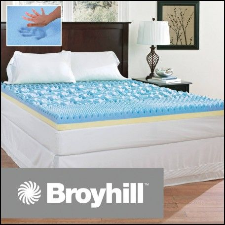 Memory Foam And Gel Mattress Topper
